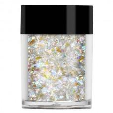 Прозрачный голограммный крупный глиттер Lecente™ Crushed Ice Random Glitter Shapes (3,5 г)