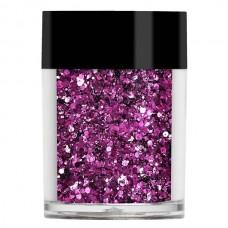Фиолетовый мульти-глиттер Lecente™ Garnet Multi Glitz Chunky Glitter (7 г)