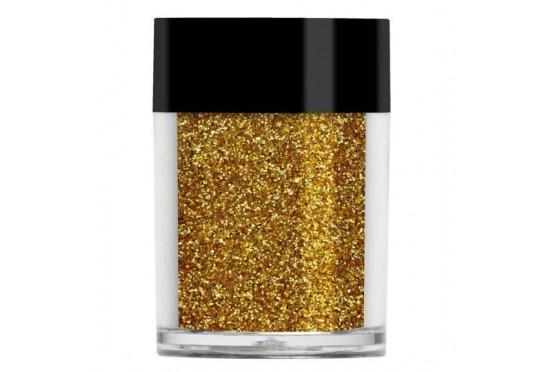 Золотой металлический микро-глиттер Lecente Gold Ultra Fine Glitter (9 г) Фото 1
