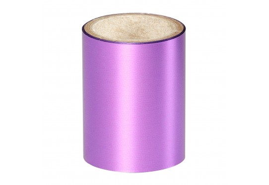 Зеркальная ярко-лиловая фольга Lecente Lilac Nail Foil (1,5м) Фото 1