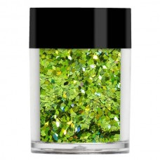 Лайм конфетти Lecente™ Lime Holographic Chunky Glitter Diamonds (7 г)