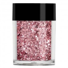 Розовый мульти-глиттер Lecente™ New York Pink Multi Glitz Glitter (6 г)
