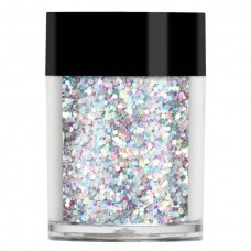 Серебристые с голограммными блестками Конфетти Pearl Chunky Glitter Shapes (8г)