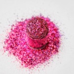 Розовый голограммный мульти-глиттер Lecente Fairytale Super Holo Multi Glitz Glitter (8г) Фото 3
