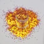 Червоно-оранжеві голограмні конфетті Lecente Phoenix Chunky Glitter Shapes 5,5 г Фото 3