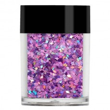 Фиолетовые конфетти Lecente™ Pink Holographic Chunky Glitter Diamonds (7 г)