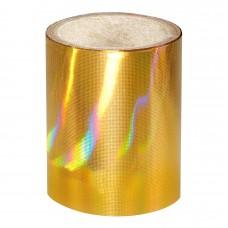 Золота голографічна фольга Lecente™ Pure Gold Nail Foil (1,5м)