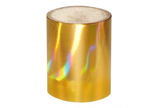 Золотая голографическая фольга Lecente Pure Gold Nail Foil (1,5м)
