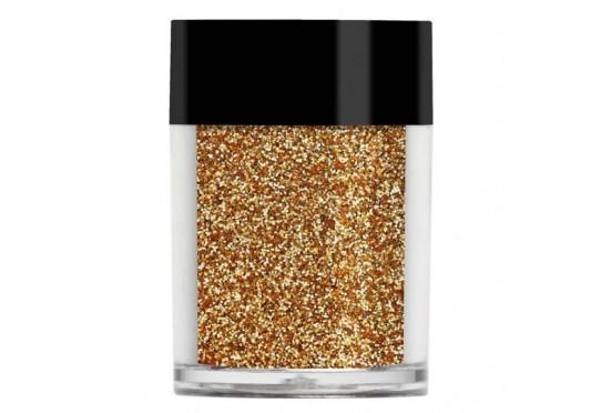Золотой металлический микро-глиттер Lecente Sahara Ultra Fine Glitter (7,5 г) Фото 1
