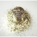 Золотий мультірозмірний глиттер Lecente Sand Multi Glitz Chunky Glitter (7 г) Фото 3