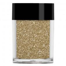 Золотой металлический микро-глиттер Lecente™ Sleigh Bells Ultra Fine Glitter (8г)