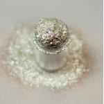 Белый голограммный глиттер Lecente Constellation Stardust Glitter 6,5 г