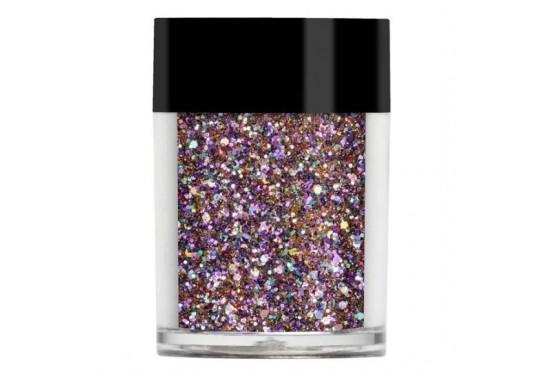 Рожево-золотистий мульти-глиттер Lecente Starlet Multi Glitz Chunky Glitter (8 г) Фото 1