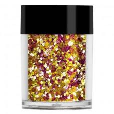 Золотисто-розовые конфетти Lecente™ Sunset Chunky Glitter Shapes (8 г)