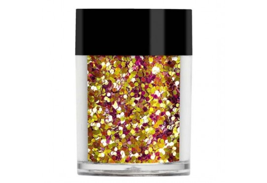 Золотисто-рожеві конфетті Lecente Sunset Chunky Glitter Shapes (8 г)