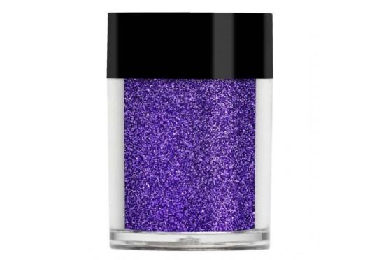 Фиолетовый металлический микро-глиттер Lecente Violet Ultra Fine Glitter (7 г)