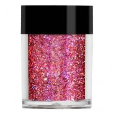 Рожевий голограмний мульти-глиттер Lecente™ Fairytale Super Holo Multi Glitz Glitter (8г)
