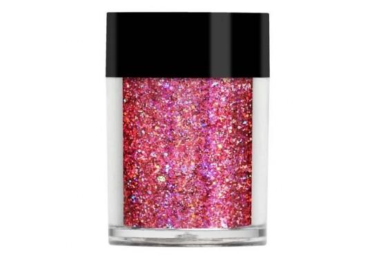 Розовый голограммный мульти-глиттер Lecente Fairytale Super Holo Multi Glitz Glitter (8г) Фото 1
