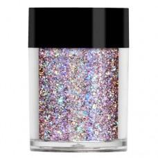Супер голограммный розовый мульти-глиттер Lecente™ Fantasy Super Holo Multi Glitz Glitter (8 г)