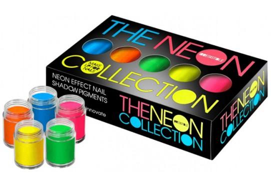 Коллекция неоновых пигментов Lecente The Neon Box Collection (5шт/уп) Фото 1