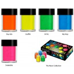 Коллекция неоновых пигментов Lecente The Neon Box Collection (5шт/уп) Фото 3