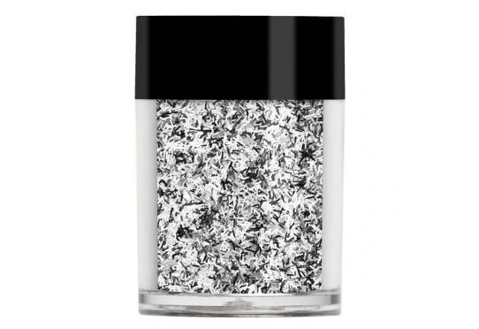 Серебристые полоски Lecente Silver Glitter Strands (8 г)