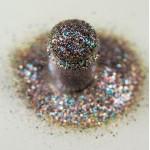 Золотистый зелено-лиловый мульти-глиттер Lecente Treacle Multi Glitz Glitter (7 г)