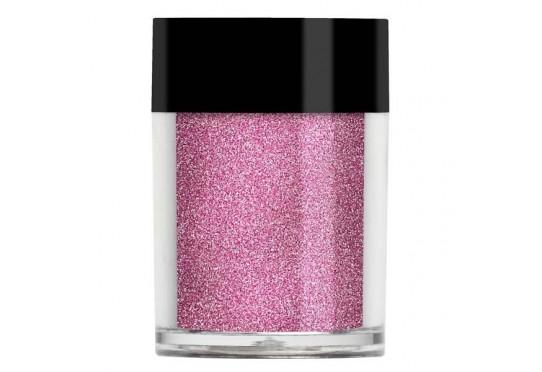 Рожевий металевий мікро-глиттер Lecente Petal Micro Fine Glitter (8 г)