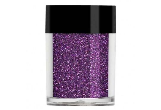 Фиолетовый голографический микро-глиттер Lecente Pop Fireworks Holographic Glitter (9 г)