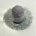 Сріблястий металевий мікро-глиттер Lecente Silver Ultra Fine Glitter (8г)