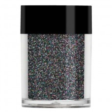 Черный голографический глиттер Lecente™ Black Holographic Glitter (9,5 г)