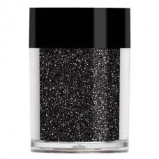Черный металлический микро-глиттер Lecente™ Black Ultra Fine Glitter (8г)