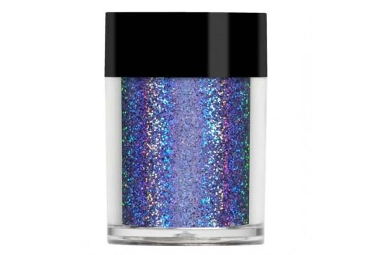Фиолетовый супер голографический глиттер Lecente Bluebonnet Super Holographic Glitter (8 г) Фото 1