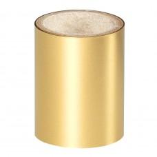 Золотая зеркальная фольга Lecente™ Bright Gold Nail Art Foil (1,5 м)