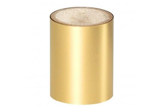 Золотая зеркальная фольга Lecente Bright Gold Nail Art Foil (1,5 м) Фото 1
