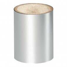 Серебристая зеркальная фольга Lecente™ Bright Silver Nail Art Foil (1,5 м)