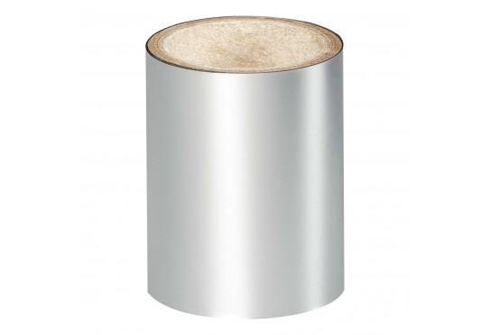 Серебристая зеркальная фольга Lecente Bright Silver Nail Art Foil (1,5 м)