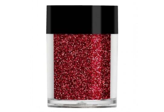 Рубиновый металлический микро-глиттер Lecente Cardinal Ultra Fine Glitter (8 г) Фото 1