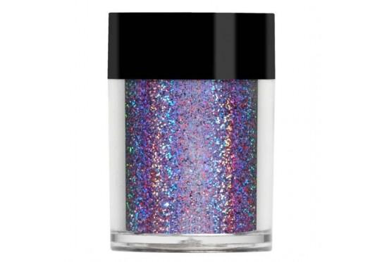 Бузковий супер голографічний глітер Lecente Majestic Super Holographic Glitter (8г) Фото 1