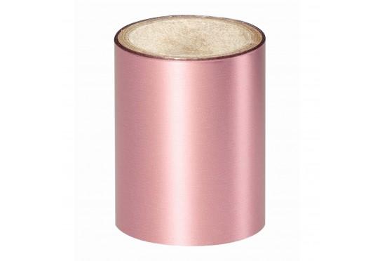Зеркальная розовая фольга Lecente Pink Lace Nail Foil  (1,5м) Фото 1