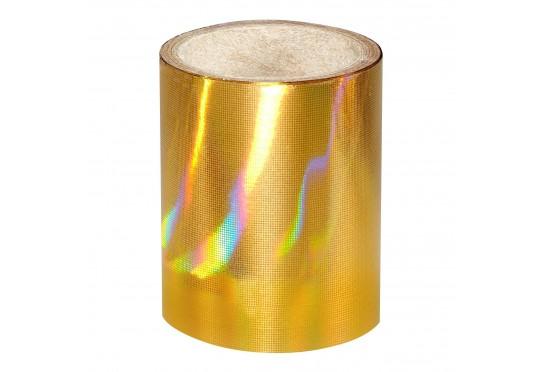 Золотая голографическая фольга Lecente Pure Gold Nail Foil (1,5м) Фото 1