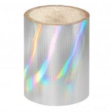 Серебряная голографическая фольга Lecente™ Pure Silver Nail Foil (1,5м)