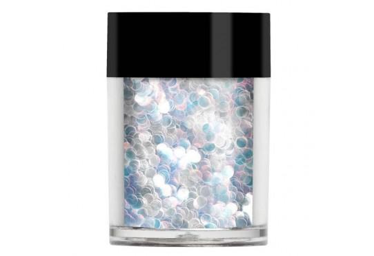 Белые радужные крупные пайетки Lecente Dancing Queen Disco Balls Glitter Shapes (8 г) Фото 1