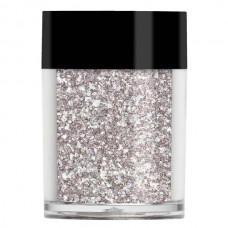 Серебристая слюда с голограммной пыльцой Lecente™ Impact Gliment'e Glitter Dust 7 г