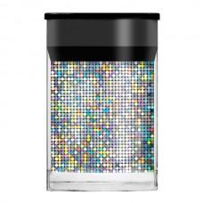 Голографическая фольга Lecente™ Silver Mosaic Nail Foil (1,5м)