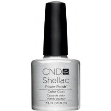 Гель-лак CND Shellac Silver Chrome