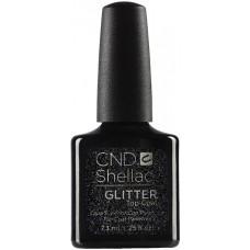 Закрепитель с глиттером CND Shellac Glitter Top Coat