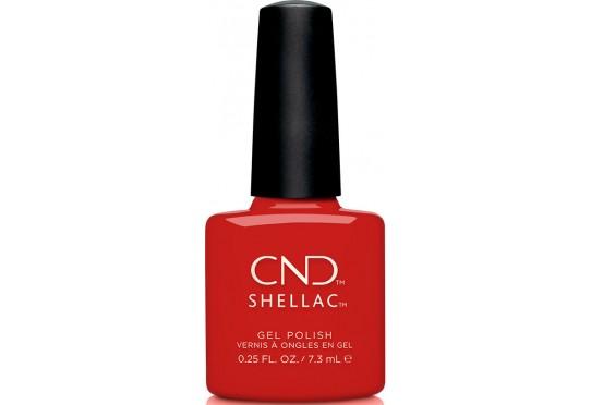 Гель-лак CND Shellac Devil Red Фото 1