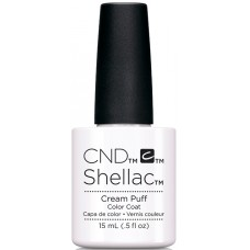 Гель-лак CND Shellac Cream Puff (15мл)