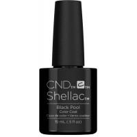 CND Shellac Black Pool 15мл